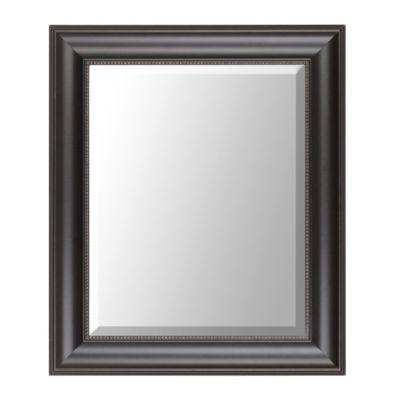 Black Classic Framed Mirror, 22x26 | Kirkland's $12.99