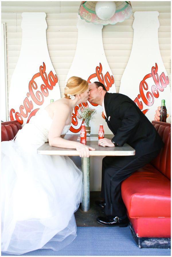coca cola wedding :)