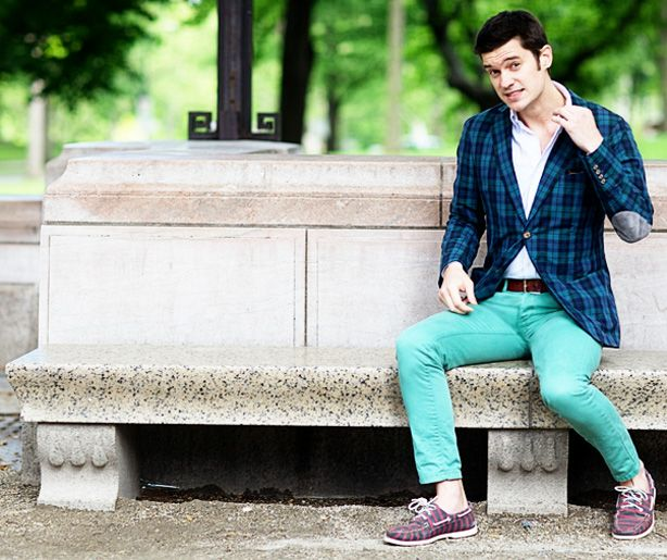 Preppy Clothes for Men 2012