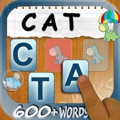 Build A Word-Easy Spelling, Learn to Spell Sight Words, Long Vowel and Short Vowel Words
