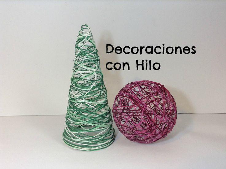 ¿Te gustaría hacer tus propios adornos de Navidad? Solo necesitarás hilo, cola, papel film y algunas figuras de poliespan o cartón. ¡Es un DIY muy fácil! Más...
