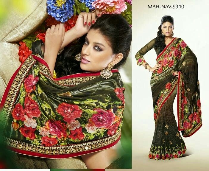 Digital saree