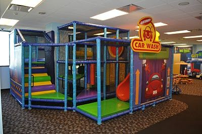 Worlds Of Wow Fun Soft Play Area For Kindergardeners At