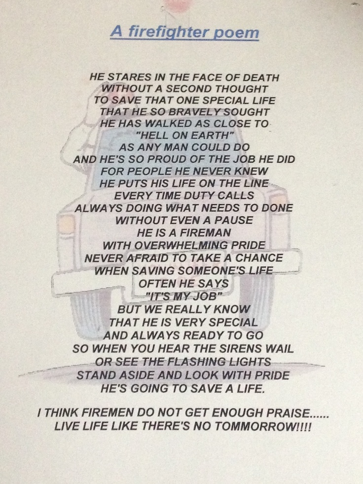 menu firefighters poem unknown poetry poetry firefighters firefighters ...