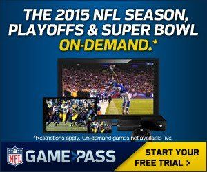 NFL GAME PASS ALLOWS YOU TO WATCH EVERY NFL GAME ONLINE, ALL SEASON LONG