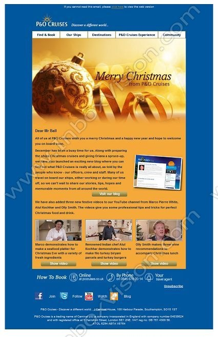 30 best email design christmas images on pinterest for Christmas newsletter design ideas
