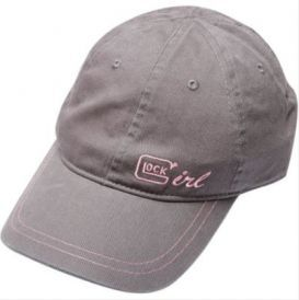 Glock Hat Glock Girl Grey/Pink Chino