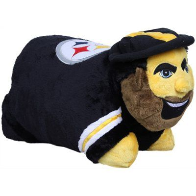 #Fanatics  Pittsburgh+Steelers+Mascot+Pillow+Pet