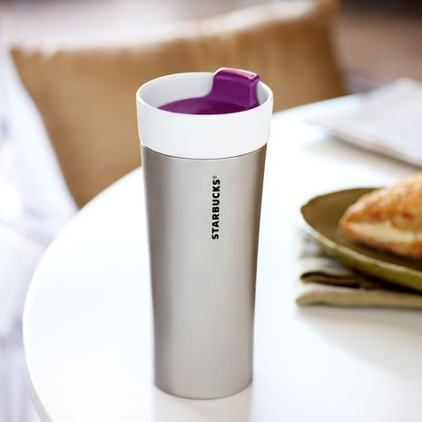 Starbucks® Stainless Steel & Ceramic Tumbler, 12 fl oz. $16.95 at StarbucksStore.com