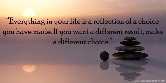 This is one of the quotes I live by because I can relate to it. I would say its important to me because I have done a lot of changes which has involved different choices. Growing up life was pretty hard but I had decided if I wanted to show others I can do better I had to change my life style. In life there are choices to make for our selves or society. Sometimes we may not make the right choices but to get results we keep trying. In this world we make choices to built a different…