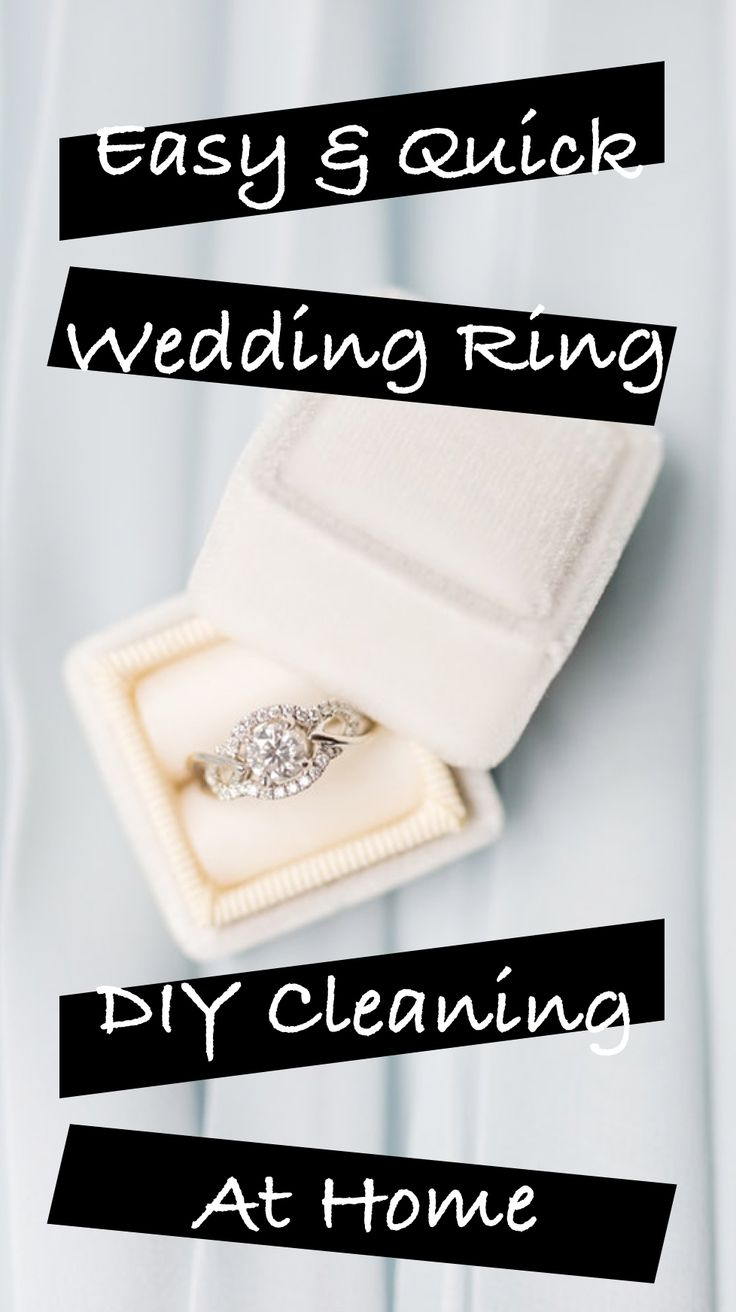 Easy & Quick Wedding Ring DIY Cleaning At Home    wedding ring cleaner diy I wedding ring cleaner I wedding ring cleaning tips
