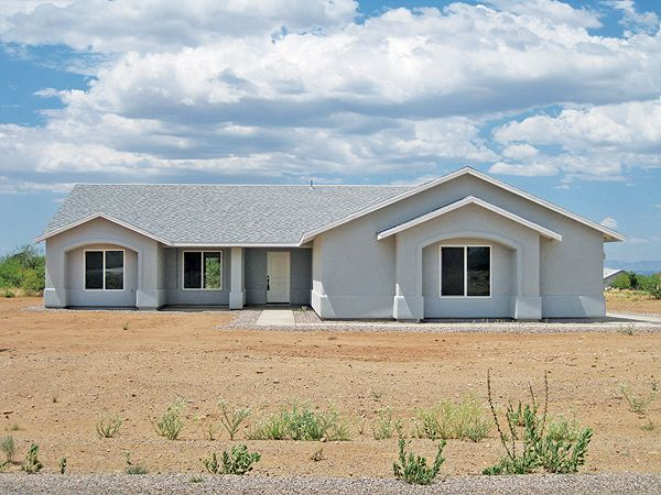 """10/20/16. Have your own mini-farm here! Upscale """"country"""" subdivision w/paved roads, underground utilities, shared well. 3BR/2BA/3CG, granite counters, stainless appliances, on 1.88 acre corner lot w/great mtn views. Horses, chickens, goats, etc. OK. $234,900. Call Marsha Burkhart, 520-508-5359, or email MarshaB@TierraAntigua.com. Direct MLS link at www.AZrealestatepress.com. Get more info on page 30 of the current REP."""