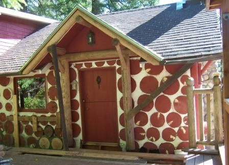 29 best images about cordwood houses on pinterest quebec for Cordwood building plans