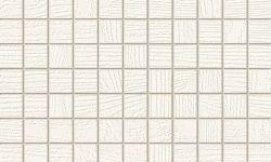 mozaic alb - gresie si faianta moderna baie Timbre Tubadzin 29.8x29.8 cm