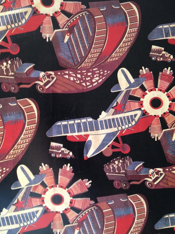 moments of perfect clarity: soviet revolutionary textiles