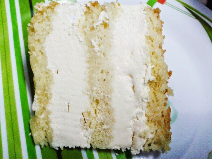 Pão de Ló Branco com Recheio de Leite em pó estilo Sodiê   Creative