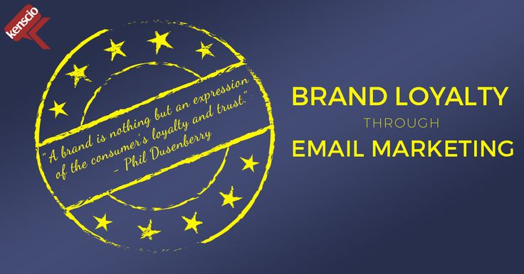 According to Phil Dusenberry, former Chairman of #BBDO advertising agency, a brand is an expression of the consumer's loyalty and trust. 7 strategies to improve #BrandLoyalty through #EmailMarketing: http://bit.ly/2nKLi3k #Quotes #Brand #Loyalty #Email