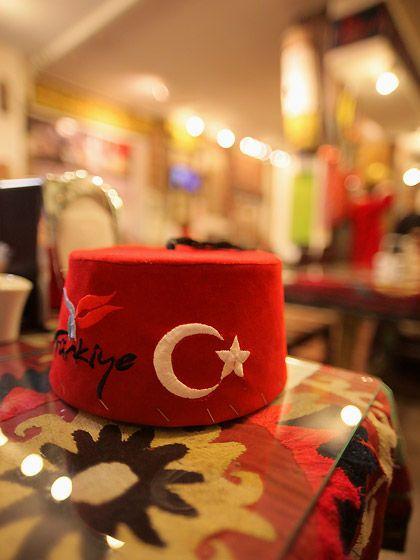 チープでキュートなトルコの帽子
