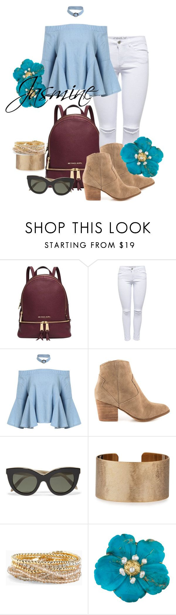 """Jasmine"" by grraciie-386 on Polyvore featuring Michael Kors, ALDO, Victoria Beckham, Panacea and Torrid"