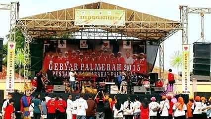 UPPD Palmerah Meramaikan Gebyar Palmerah 2015