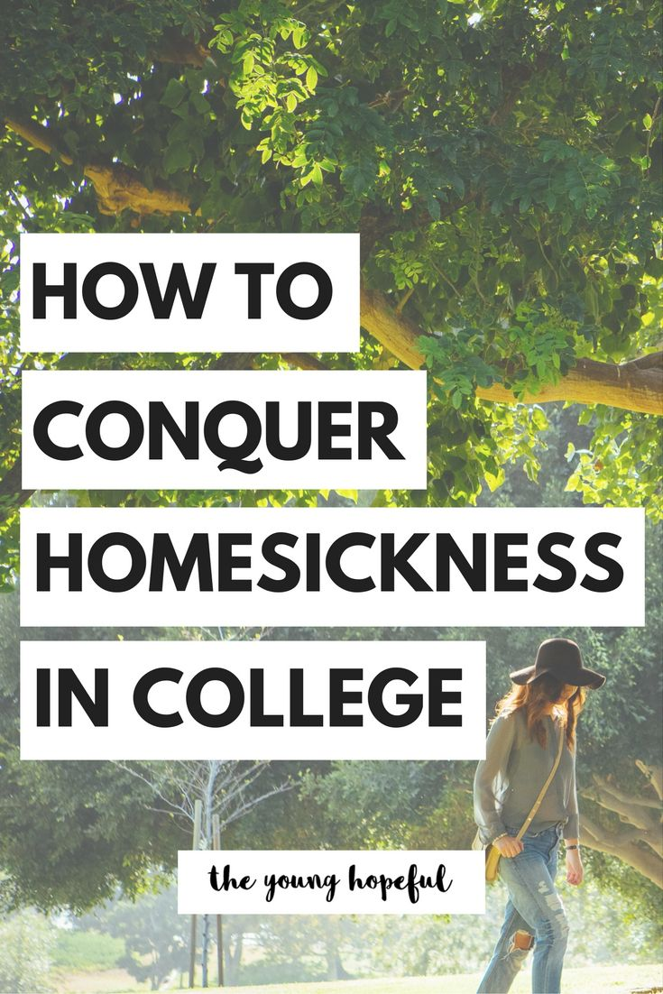 Homesickness is a normal part of college, but it doesn't have to rule your college experience. We talked to mental health professionals and college girls like you to find out what you can do to conquer homesickness in college!