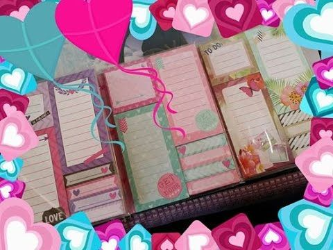 la mia collezione di post it parte uno #LOVEDBYGABY  #ACCESSORIZE #ALIEX...