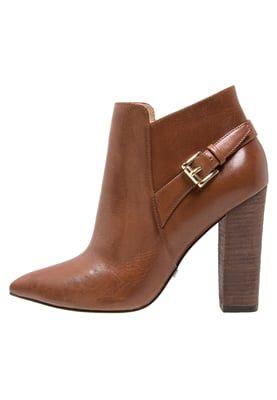 Boots à talons - global cognac