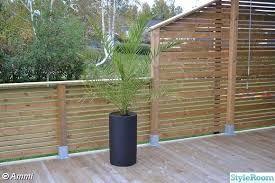 Bildresultat för altanbygge staket granne