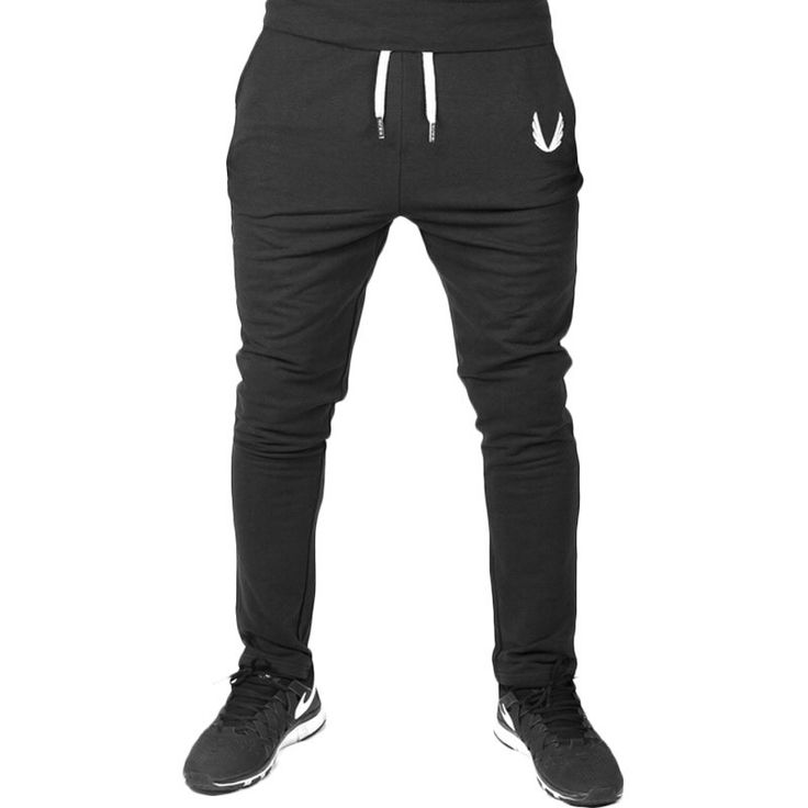 Gym Pants     Tag a friend who would love this!     We offer FREE Shipping Worldwide    Grab one here ---> http://www.casualmen.co/2016-new-mens-joggers-fitness-training-running-jogging-pants-men-brand-gymshark-bottoms-bodybuilding-sweatpants/