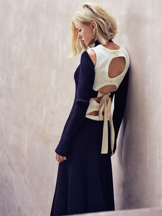 Noami Watts by Nathaniel Goldberg for Vogue Australia October 2015