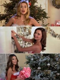 Victoria's Secret-modellen die moeten zingen
