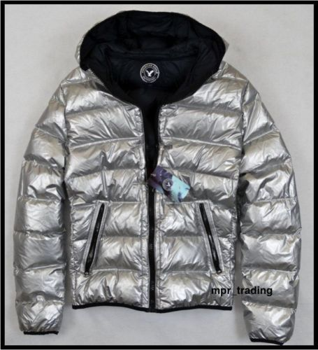 Details about NWT American Eagle Men's Silver Lightweight ...