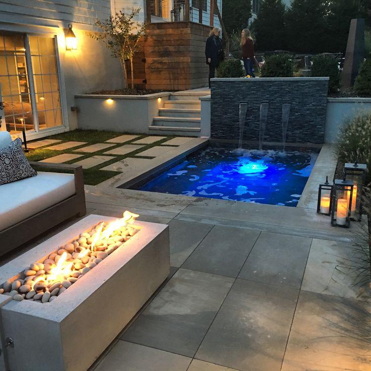 Contemporary custom built spa