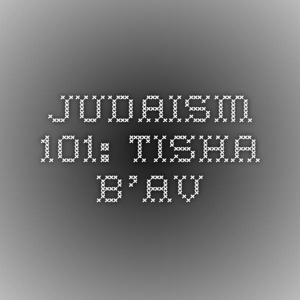 """Tisha B'Av (Hebrew: תשעה באב or ט׳ באב, """"the Ninth of Av,"""") is an annual fast day in Judaism, named for the ninth day (Tisha) of the month of Av in the Hebrew calendar. The fast commemorates the destruction of both the First Temple and Second Temple in Jerusalem, which occurred about 655 years apart, but on the same Hebrew calendar date."""