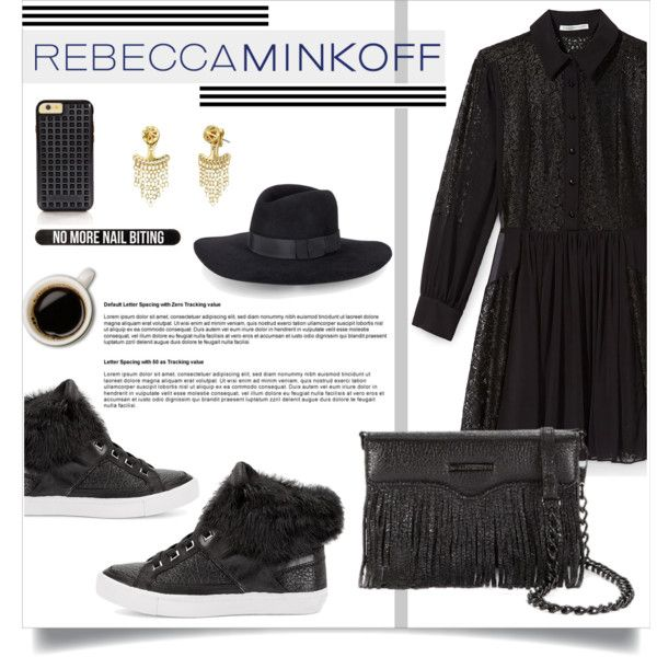 A fashion look from September 2015 featuring Rebecca Minkoff dresses, Rebecca Minkoff sneakers and Rebecca Minkoff shoulder bags. Browse and shop related looks.