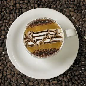 I would drink coffee if it was served like this. ;D