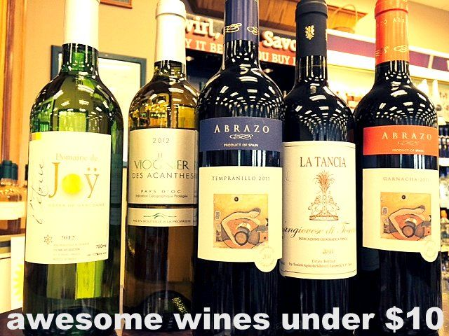 budget wines under 10 dollars