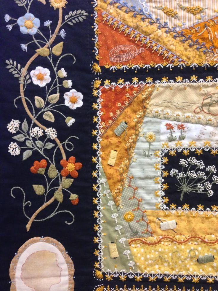 Elisabeth's Garden: A Tale of a Thousand Threads by Elisabeth Frolet bloominginchintz.blogspot.com:
