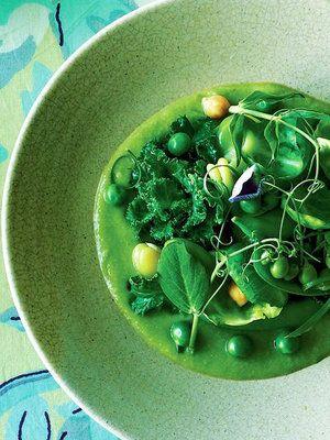 なめらかなグリーンソースが決め手!|『ELLE gourmet(エル・グルメ)』はおしゃれで簡単なレシピが満載!