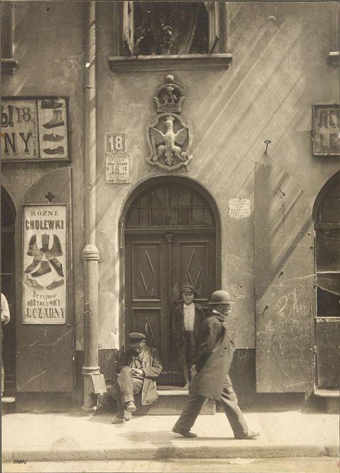 Stanisław Nofok-Sowiński, Kamienica Pod Orłem przy ul. Piwnej 18 w Warszawie, 1912-1915,