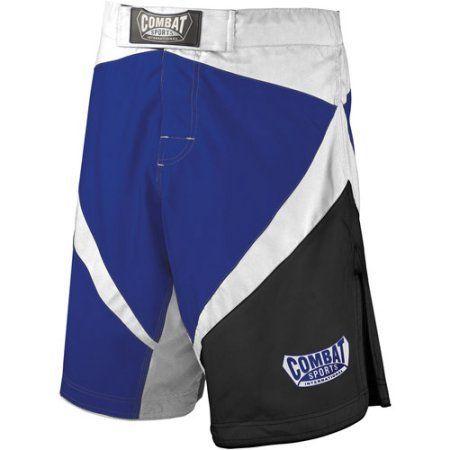 Combat Sports Fight MMA Boardshorts, Size: 36, Blue