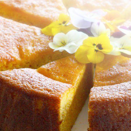 Almond and Mandarin Cake ~ Naughty Naturopath Mum. Gluten and dairy free.