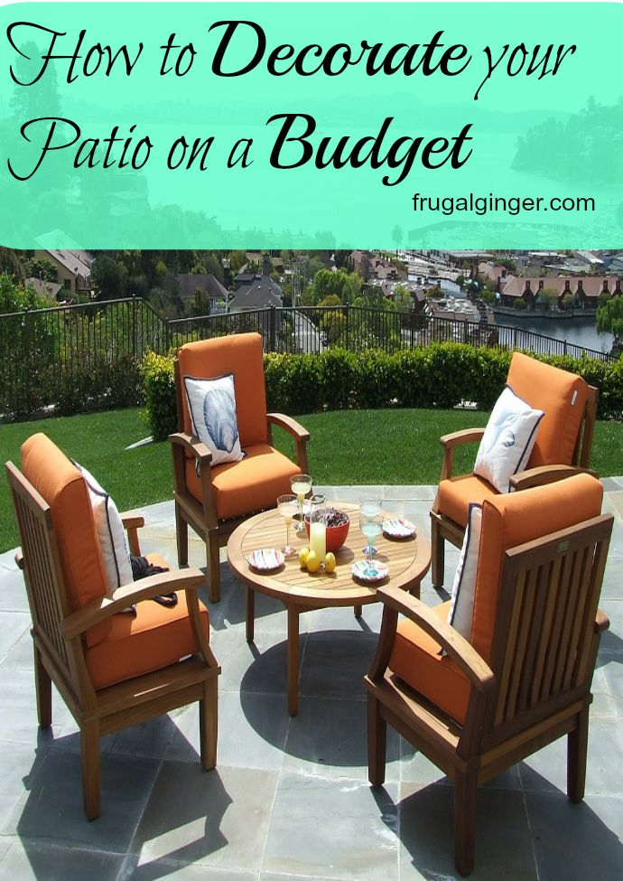 29 Best Back Yard Images On Pinterest | Outdoor Patios, Outdoor Spaces And Outdoor  Furniture