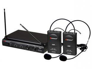 Microfone sem Fio Headset - Karsect KRU 302