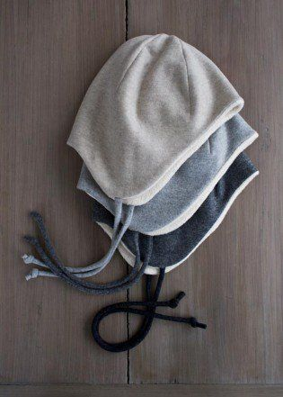Wool + Cotton Sewn Ear Flap Hat | Purl Soho - Create