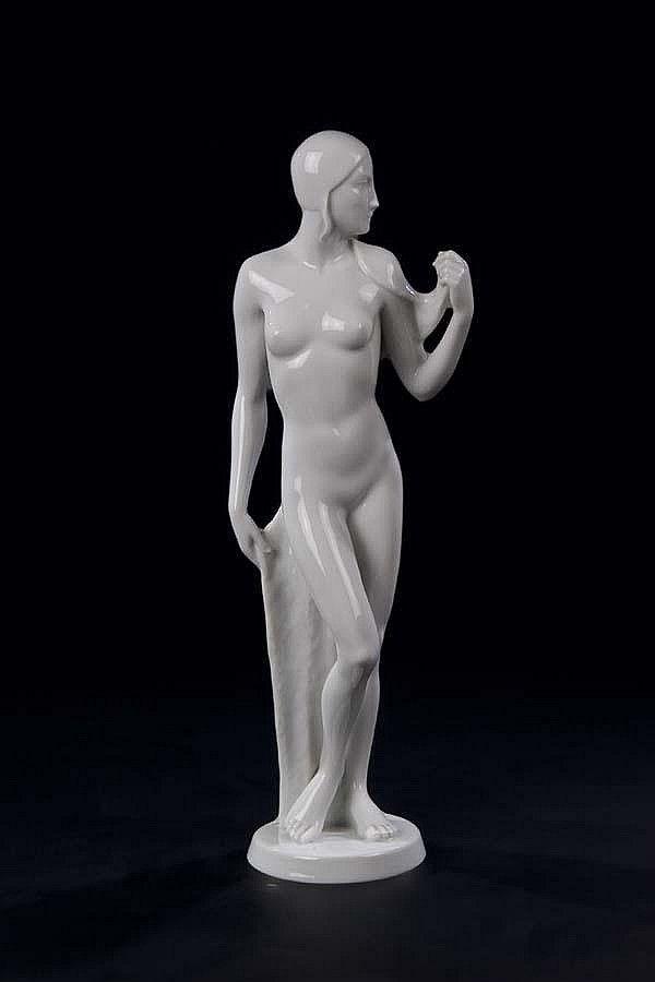 Swimmer - 1933/34, Rosenthal. Model nr.783. H. 33,5 cm.