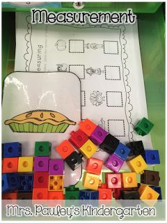 Mrs. Pauley's Kindergarten: Math Center Organization with Freebies