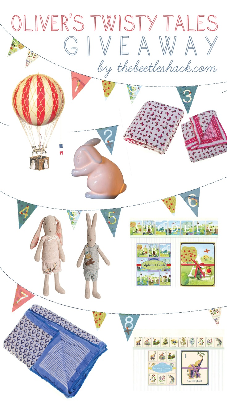 ::The Beetle Shack::: A VINTAGE INSPIRED GIVEAWAY with OLIVERS TWISTY TALES