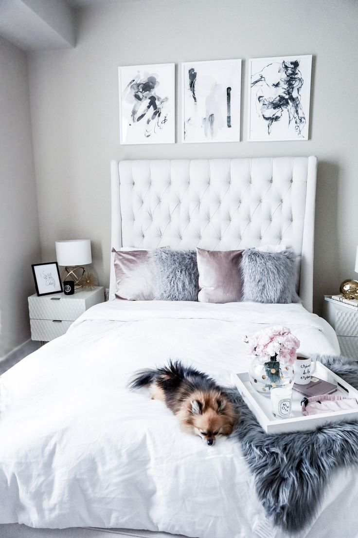 Bedroom interior pink - Minted Pale Pink Bedroomsscandinavian Bedroombedroom Interiorshome