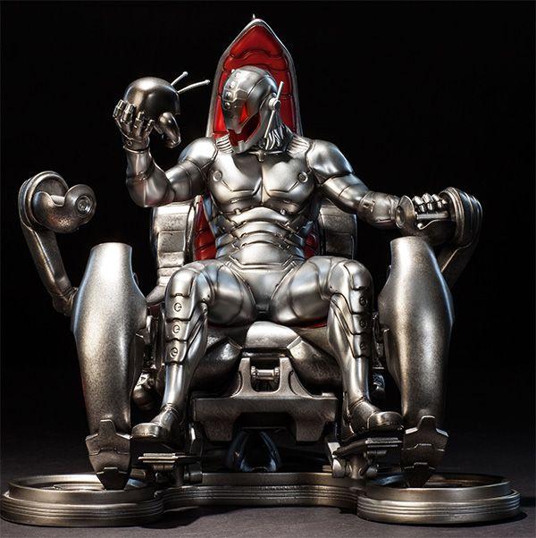 Classic Ultron on Throne #Marvel